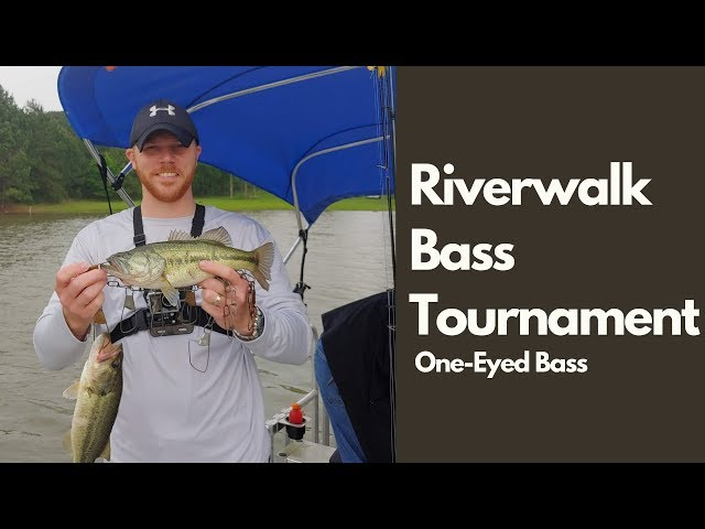 2019 Riverwalk Bass Tournament with my Daughter and Dad