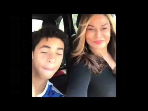 Beyoncé mom and nephew sings Blue Ivy Song  from Jay z's 444 album