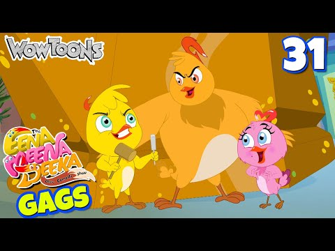 Eena Meena Deeka | New Gags 31 | Funny Cartoons for Kids | Wow Toons