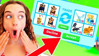 NAZ MADE A BIG MISTAKE in ONLY TRADING CIRCUS ITEMS in Adopt Me ROBLOX Gaming w/ The Norris Nuts