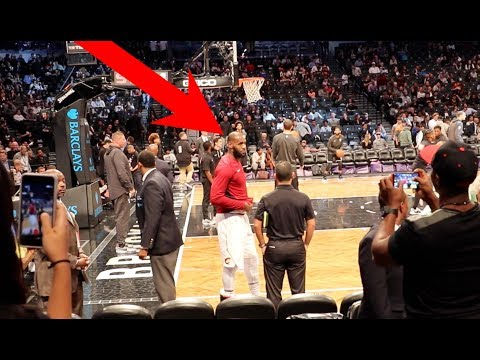 ASKING LEBRON JAMES TO PLAY ME ONE ON ONE IN PERSON!!!