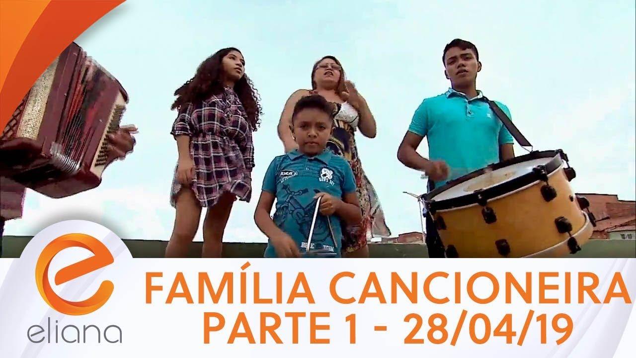 História da Família Cancioneira  - Parte 1 | Programa Eliana (31/03/19)