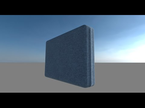 One method of modeling a zippered seam on a cushion using Blender.