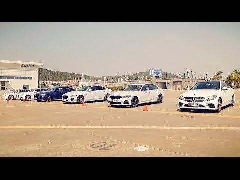六款豪华中型车加速比拼横评测试