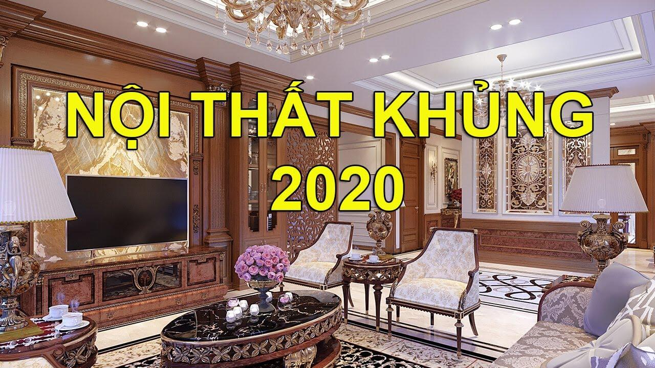 Top 20 Thiết Kế Nội Thất Phòng Khách Biệt Thự Đẹp Xu Hướng 2020 – 2021