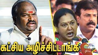 பேசியே கட்சிய அழிச்சிட்டாங்க : VC Chandrakumar Interview Against DMDK   Vijayakanth  , Premalatha