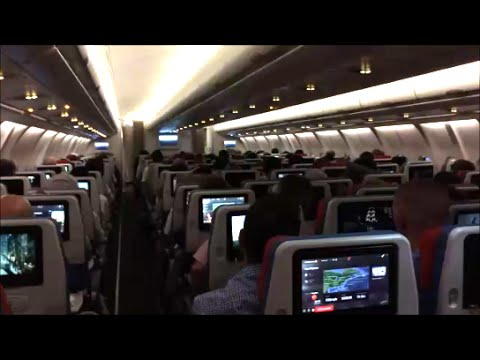 turkish airlines airbus a330 300 new economy class review youtube