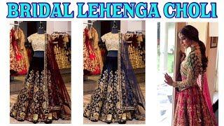 BUY NOW Designer Bridal Lehanga Choli  ll Online Shop ll www.prititrendz.com