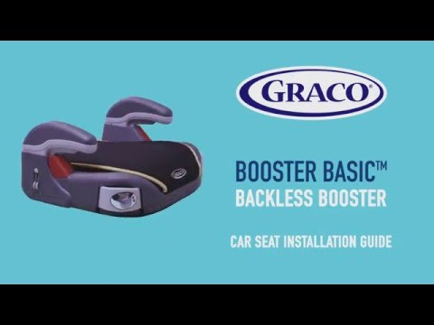 GRACO Backless Booster Car Seat Installation Guide