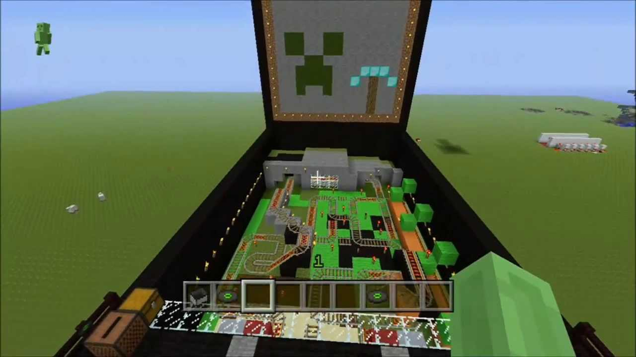 MINECRAFT XBOX360 Pinball YouTube