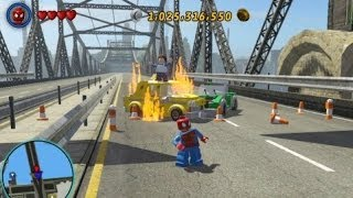 LEGO Marvel Super Heroes - Residential Area 100% (All Collectibles - Gold Bricks/Tokens/Missions) thumbnail
