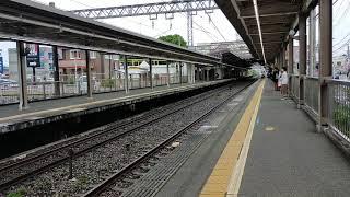 小田急1000形1251F+1051F 快速急行小田原行 愛甲石田駅到着