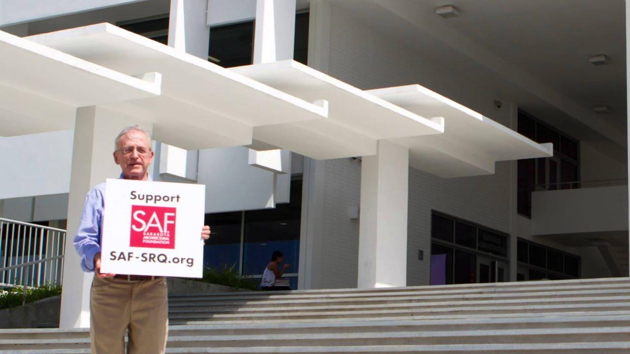 Sarasota architecture matters sarasota high school youtube for Sarasota architectural foundation