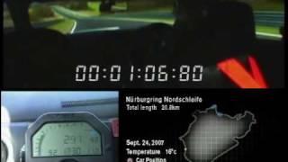 Nissan GT-R runs a 7:38 at Nurburgring