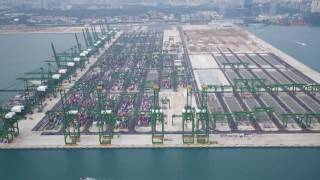 Top 10 Engineering Features of Pasir Panjang Terminal Phases 3&4