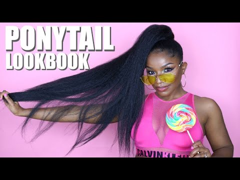 How to Slay Cheap Drawstring Ponytail