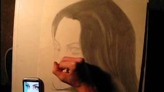 Liz Gillies Speed Drawing