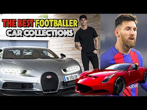 TOP 10 FOOTBALLERS SUPERCARS 2017 including Ronaldo, Messi & Neymar!