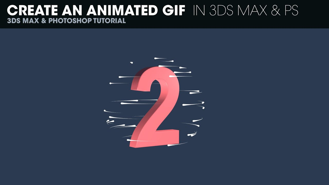 Create an animated gif in 3ds max 2015 and photoshop cc youtube negle Image collections