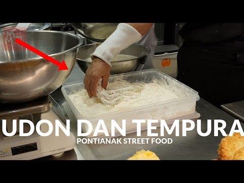 BIKIN KETAGIHAN !! CITA RASA MARUGAME UDON DAN TEMPURA   | PONTIANAK STREET FOOD #47