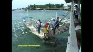 FLOATING RESTAURANTS, OLANGO ISLAND, MACTAN. CEBU PHILIPPINES
