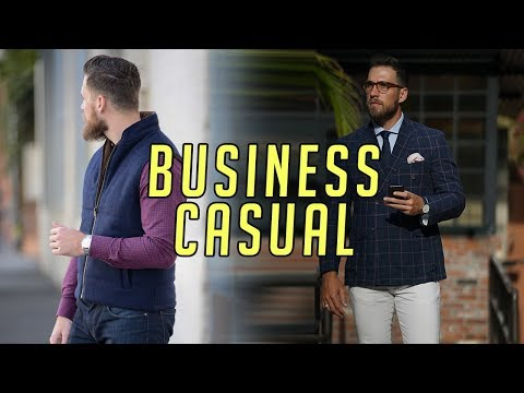 How to Wear Business Casual Right || Men's Fashion || Gent's Lounge || Mizzen and Main