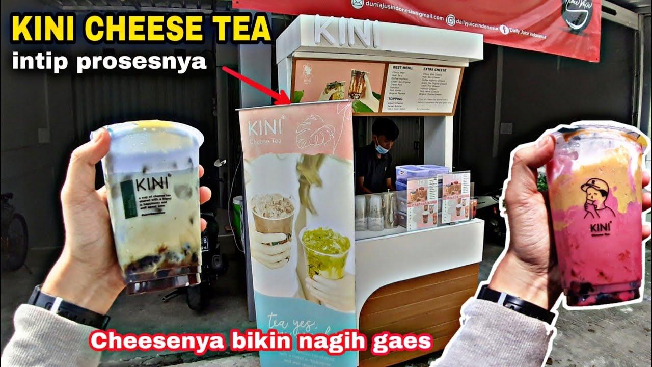 MODAL SUSU DAN BUBUK⁉️ KINI CHEESE TEA - AUTO CUAN USAHA ...
