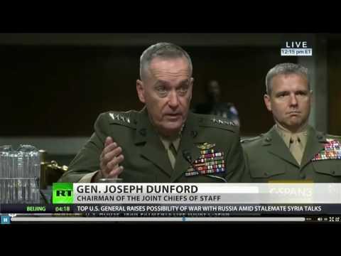 U.S. Marine General Joseph Dunford on No fly zone in Syria