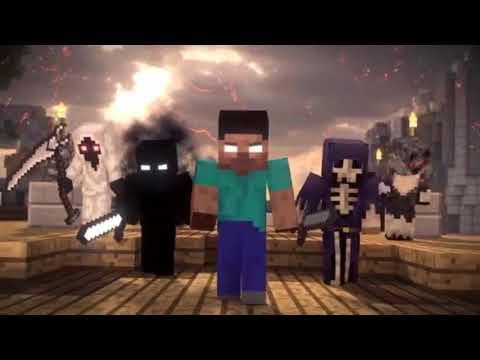 Minecraft Imagine dragons-Thunders (Made by Alex rar)