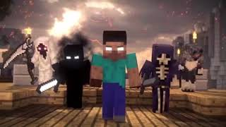 Minecraft Imagine dragons-Thunders (MUSIC VIDEO!)