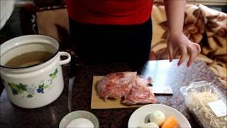 Нищенский суп/ Легкая похлебка с курицей/ Разгружаемся после праздников
