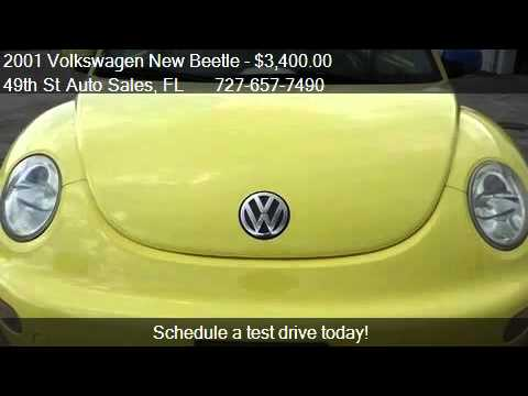 2001 Volkswagen New Beetle - for sale in Clearwater, FL 337