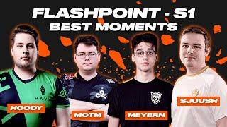 CS:GO Best Moments | FLASHPOINT Season 1 | ВУЛКАН КИБЕРСПОРТ