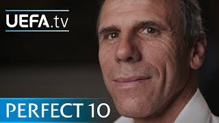 Gianfranco Zola builds his perfect number 10