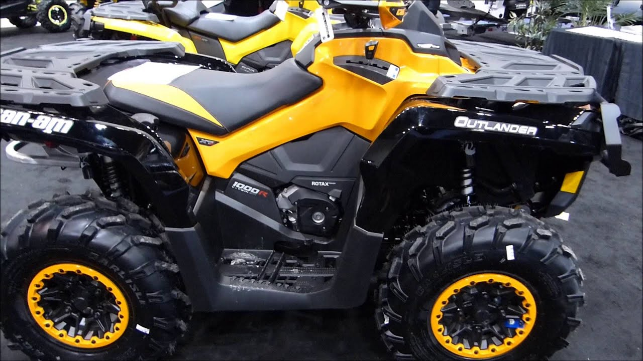 2016 Can Am Outlander 1000 Xtp Walk Around