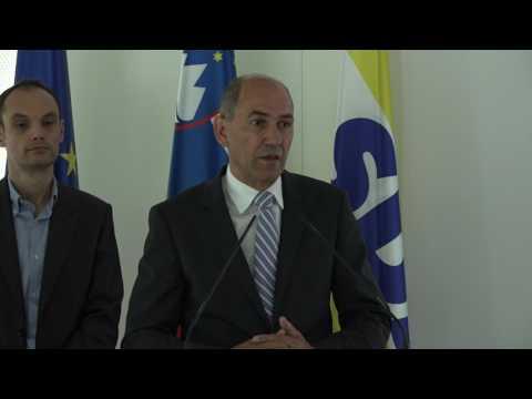 Janez Janša, mag. Branko Grims in dr. Anže Logar o odločitvi arbitražnega sodišča, 30. 6. 2017