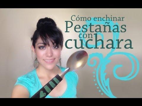 Riza Tus Pestañas Con Cuchara Spoon Curler How To