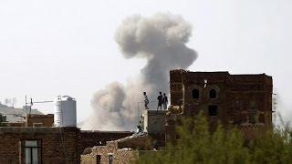 أخبار عربية | غارات للتحالف على مخازن أسلحة ومعسكرات تدريب في صنعاء