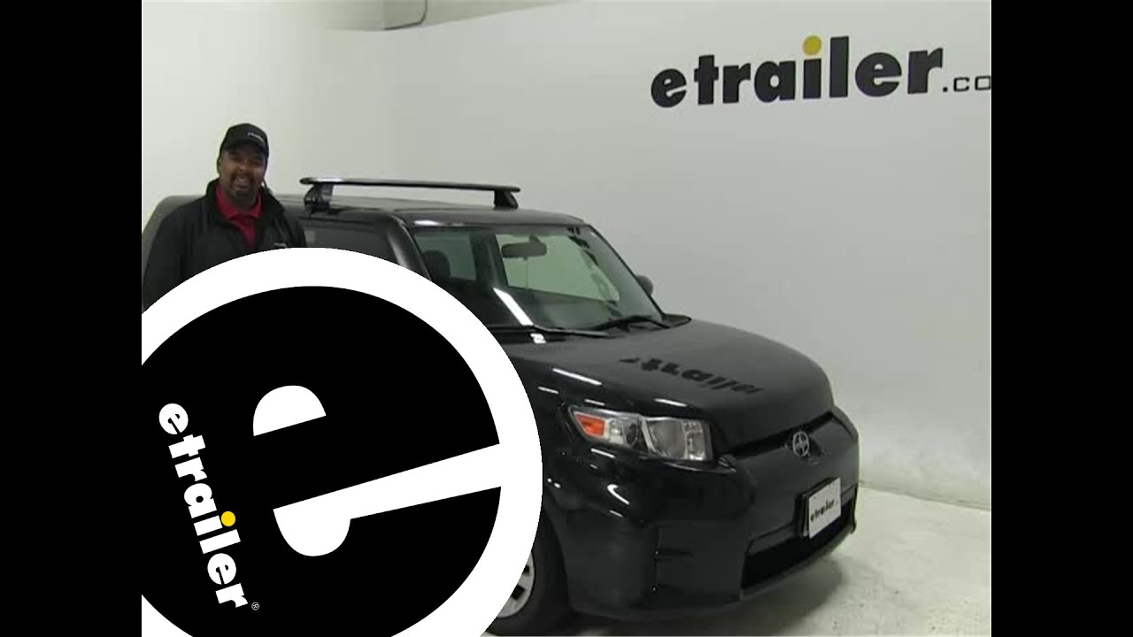 Rhino Rack Roof Rack Review 2012 Scion Xb Etrailer Com