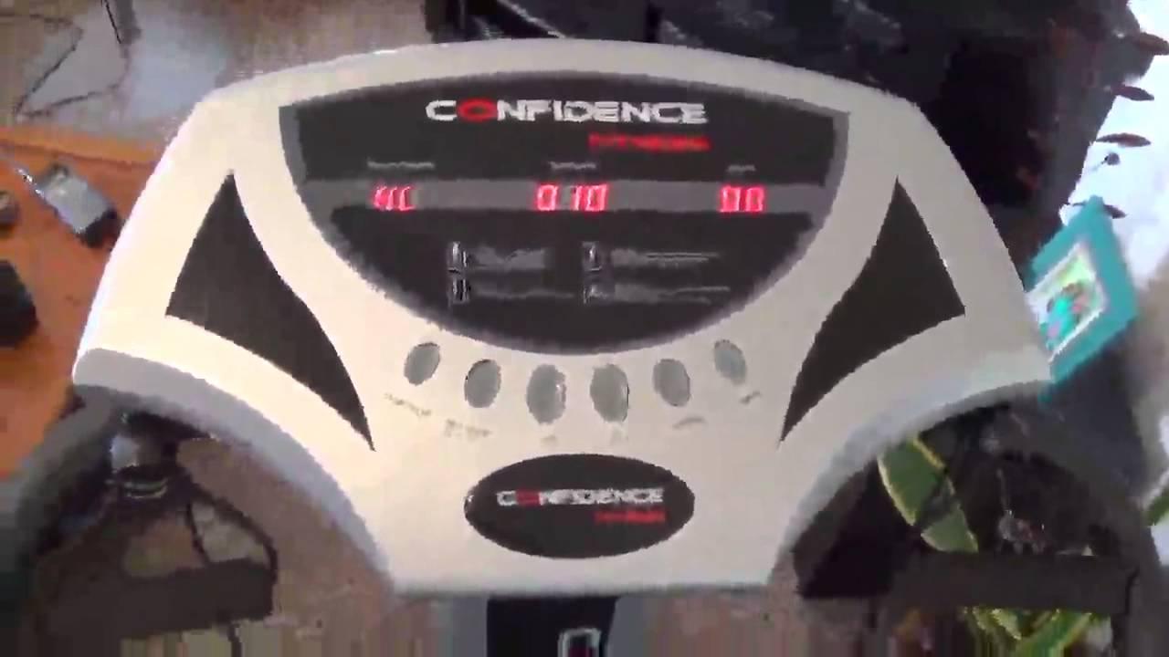 Confidence Fitness Slim Full Body Vibration Platform Fitness Machine Black Review Youtube