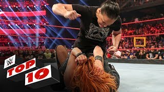 Top 10 Raw moments: WWE Top 10, Feb. 10, 2020