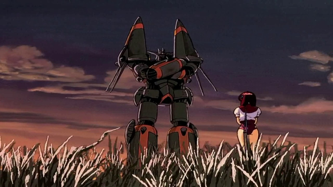 Top wo nerae! Gunbuster - Trailer (Sakura Nagashi) - YouTube