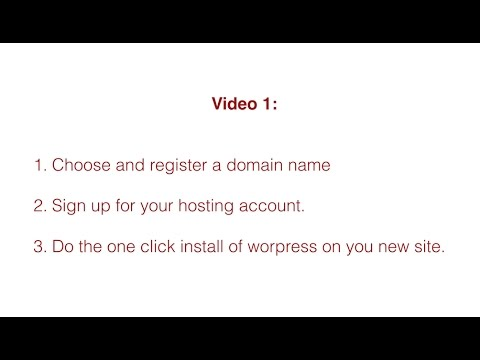 Video 1   Step One of Creating Your Business Loan Brokering Website