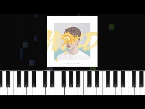 Troye Sivan - ''Ease'' Ft Broods Piano Tutorial - Chords - How To Play - Cover