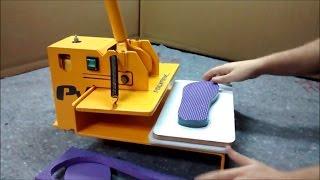 Máquina de cortar chinelo Polymak PV