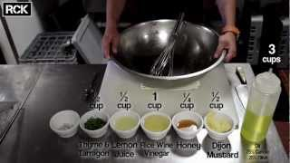 How To Make A Lemon Vinaigrette