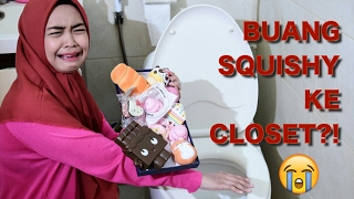 Video MINI SQUISHY DARES! BUANG SQUISHY KE CLOSET oh no :(  - Ria Ricis download MP3, 3GP, MP4, WEBM, AVI, FLV Agustus 2018