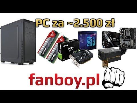 Komputer dla gracza za ~2.500zł LUTY 2018 #fanboy.pl
