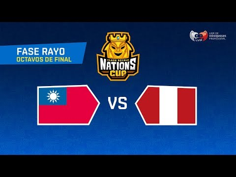[ENG] | TAIWAN VS PERÚ | CR Nations Cup | Thunder Stage