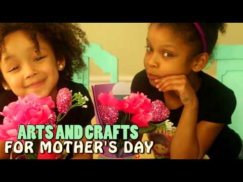 Mother's Day Arts and Crafts Acitivity